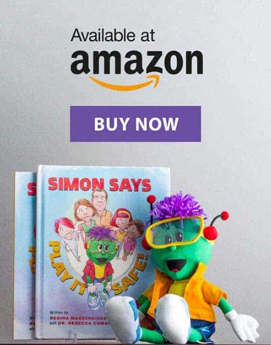 Simon Says Play It Safe! Now available on Amazon.